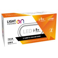 LightPhenomenON LT-LBWP-01-IP65-12W-6500К  - ЭТК  Урал Лайн